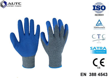 Cut Resistant Gloves Flexible Breathable Nylon HPPE Glass Fiber Latex Coated