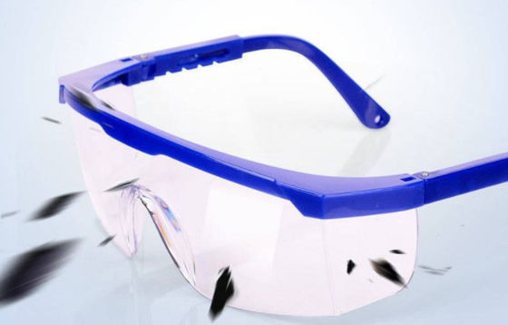 HD Blue Eyebrow Telescopic Auto Darkening PPE Safety Goggles